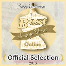 Best Vintage Shops Online Official Selection 2013