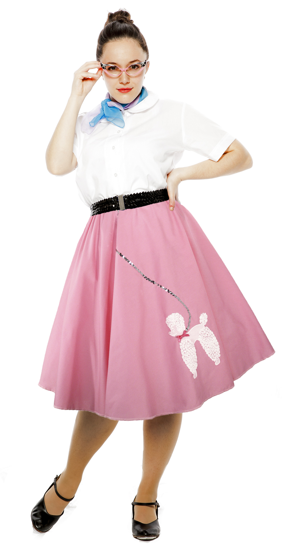 Hey Viv ! Poodle Skirts Swing - Circle Skirts with Elastic Waists for an easy fit
