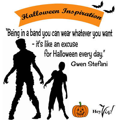 Happy Halloween from Hey Viv !