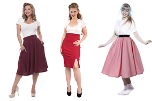Retro Style Skirts at Hey Viv !