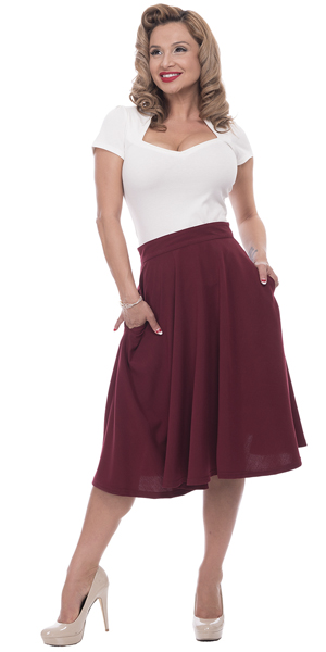 Fit and Flare Full Skirts at Hey Viv